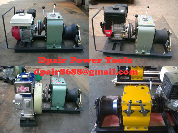 Cable Drum Winch,Cable pulling winch, cable puller,Cable Drum Winch