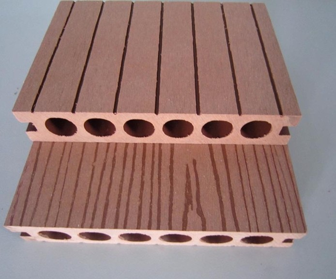 Wpc decking wood plastic composite deck floor eco for Recycled plastic decking