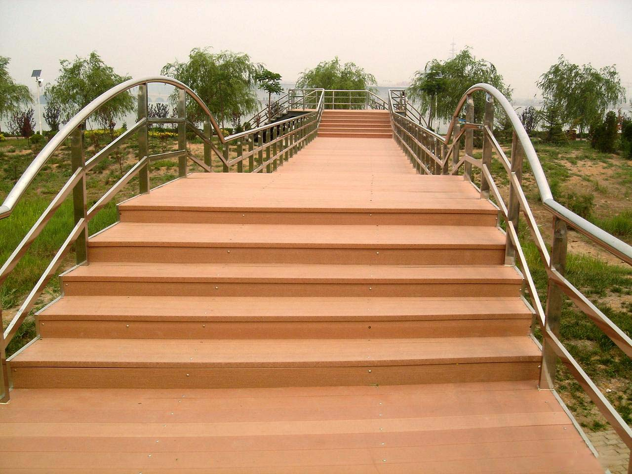 Wood Plastic Composite Decking : Wpc decking wood plastic composite deck floor eco