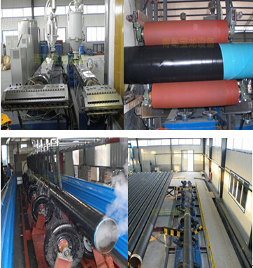Two-layer/Three-layer PE Anti-corrosion Production Line