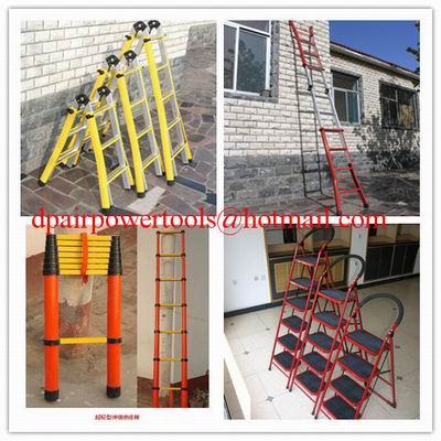 Single step extension FRP ladder,Easy handing fiberglass foldable ladder