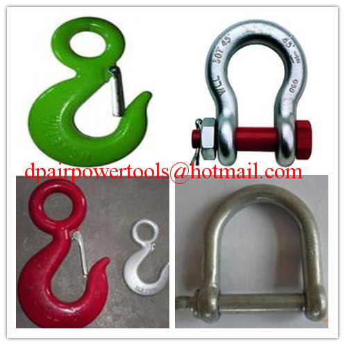 Screw Pin Bow Shackle& D- Shackle,Standard D Shackle&forged Shackle