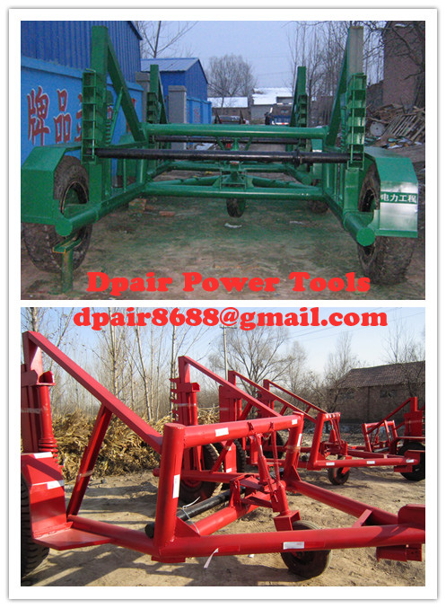 Asia CABLE DRUM TRAILER, Quotation Cable Reel Trailer,Cable Carrier