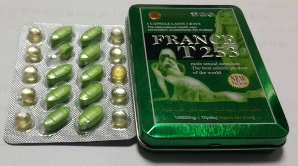 Metal Packing France T253 Herbal Pills Help Men To Be More Stronger In Sex