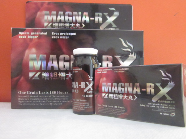 MAGNA-RX Natural Sex Pills for Penis Enlargement Hardness Thickness