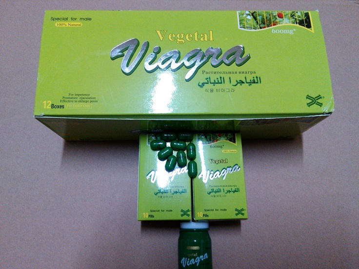 Vegetal Viagra 100% Natural Male Enhancement Capsules