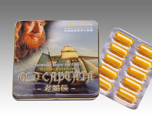 Old Captain Duration Elongating Sex Capsules Wholesale