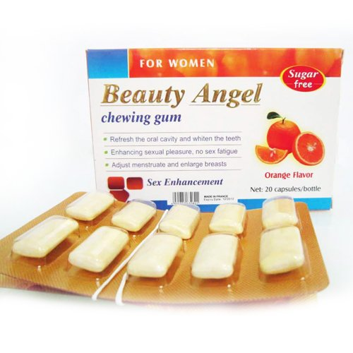 Beauty Angel Chewing Gum Sex Enhancement for Women
