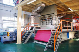 SS Spunbonded Non Woven Machine