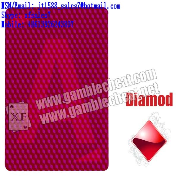 XF Marion Pro Poker Jumbo 100% Plastic Playing Cards/poker analyzer/poker cheat/contact lens/infrared lens/poker scanner/marked cards/invisible ink/gamble cheat/electronic dices/baccarat cheat|baccara
