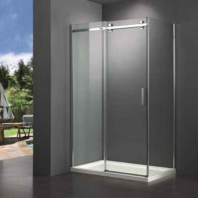 Square Big Roller Shower Enclosure