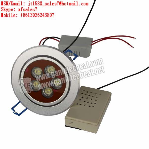 XF brand new LED lights lamp camera with long distance for barcode marked cards and backside marking cards playing poker