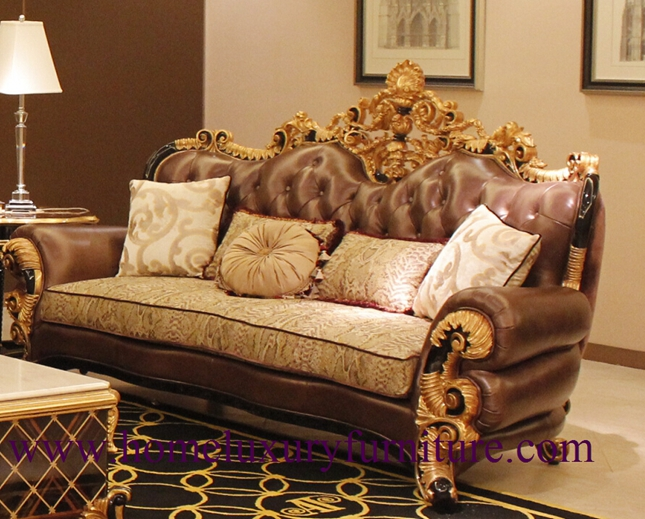 Genunie Leather Sofa Luxury Living Room Furnitue Sofa Sets