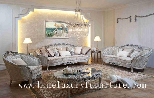 Luxury Classic Sofa 3 Piece Sofa Set Price Fabric Sofa