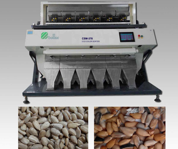 Sunflower Seeds CCD Color Sorter Machine
