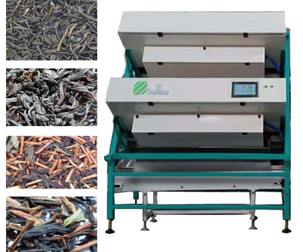Tea CCD Color Sorter Machine