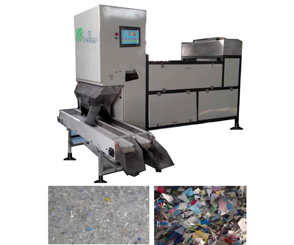Plastic CCD Color Sorter Machine