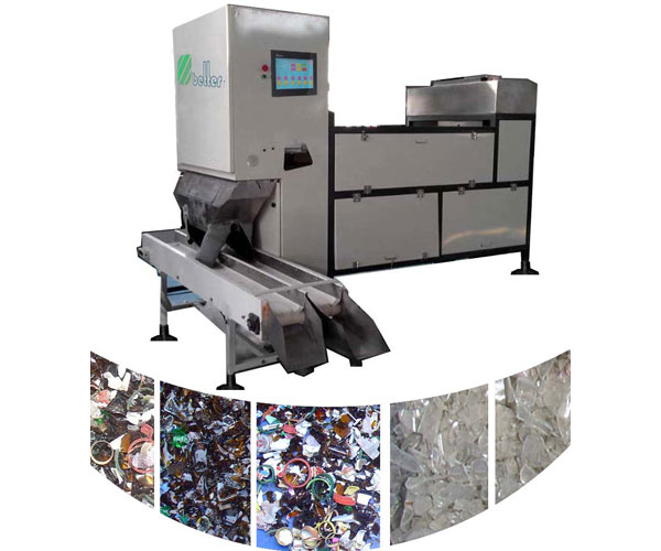 Cullet CCD Color Sorter Machine