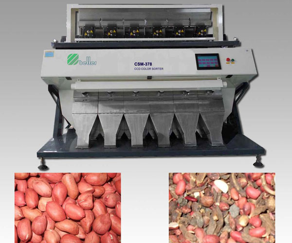 Peanut CCD Color Sorter Machine