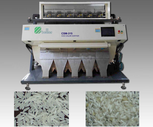 High-End 2048 Pixel Rice CCD Color Sorter