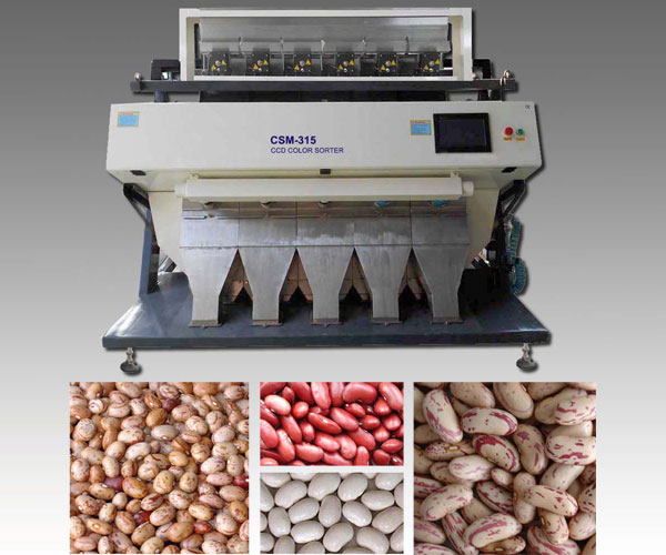 Kidney Bean CCD Color Sorter Machine
