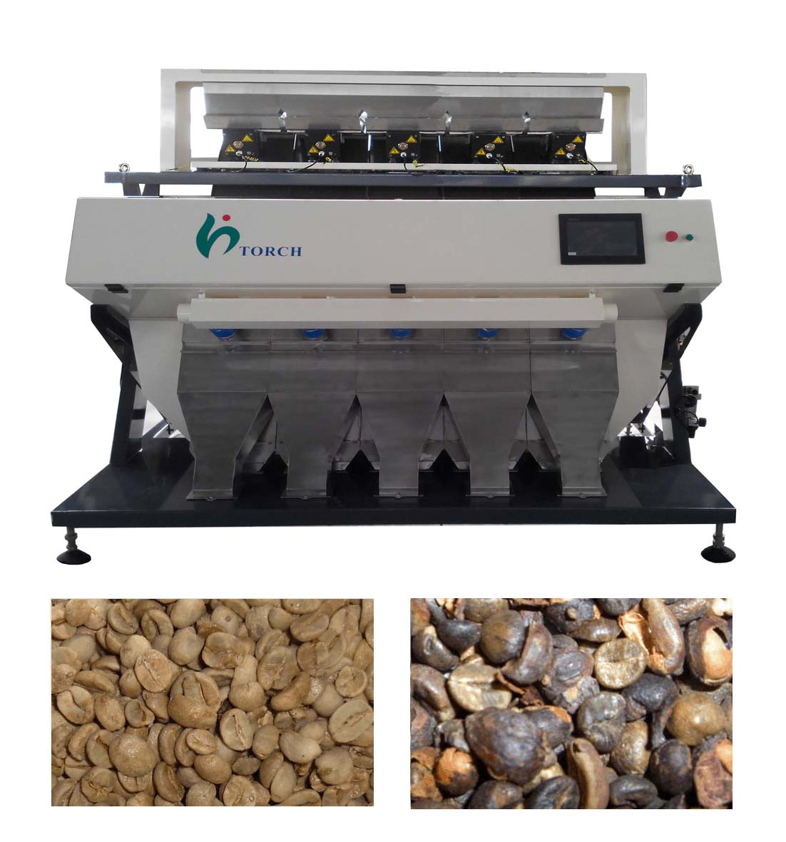 Coffee Bean CCD Color Sorter Machine