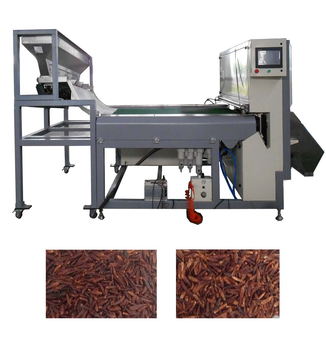 Pepper CCD Color Sorter Machine