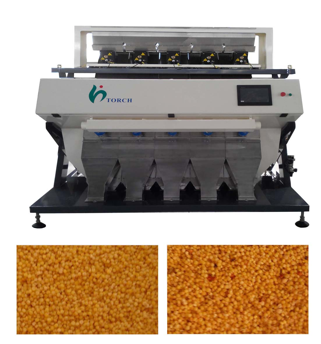 Millet CCD Color Sorter Machine