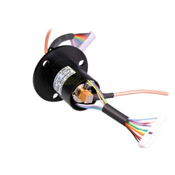 HD-SDI hybrid coax electrical slip ring