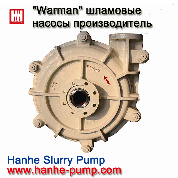 Hanhe® Warman Slurry Pump Manufacturer