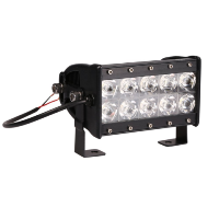 Double Row LED Light Bar For Off Road Truck With Spot
