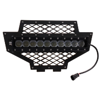 100w Lower LED Light Bar(included) Grille 2011-2013 Polaris RZR