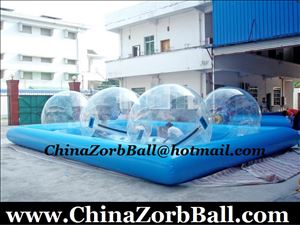 Water Ball Pool, Zorb Ball Pool, Inflatable Water Pool