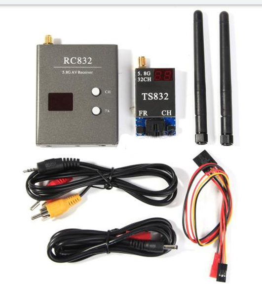 TS832 RC832 Transmitter Receiver 32CH 5.8GHz Video Link