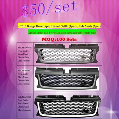 Great Sale Land Rover Range Rover Sport Front Grille Side Vents