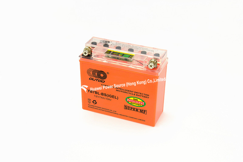 Intelligent Detection Battery with 12V Voltage and 7ah Capacity, Measures 148 X 60 X 128mm