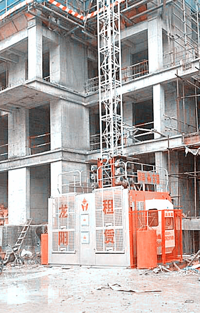 SC200/200 construction lift machinery