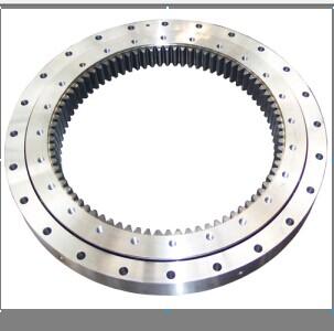 Inner teeth single-row slewing bearing