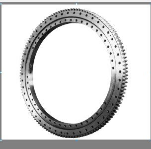 Outer teeth Two-row Four Point Contact with the same track Ball Slewing Bearing