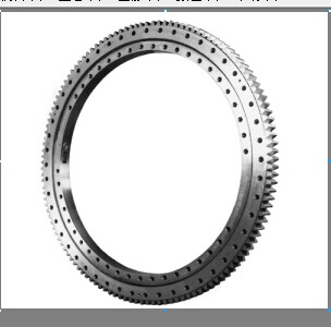Outer teeth single-row slewing bearing