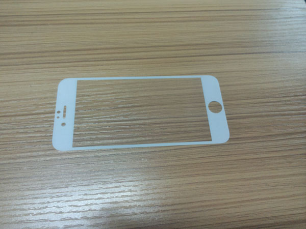 Full size glass screen protector for iphone 6 with 0.33mm, 9H