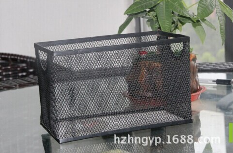Metal Vertical File Basket