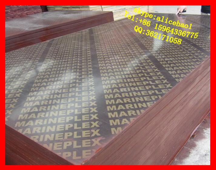 shandong linyi film faced plywood/marine plywood/Construction Plywood/formwork panels