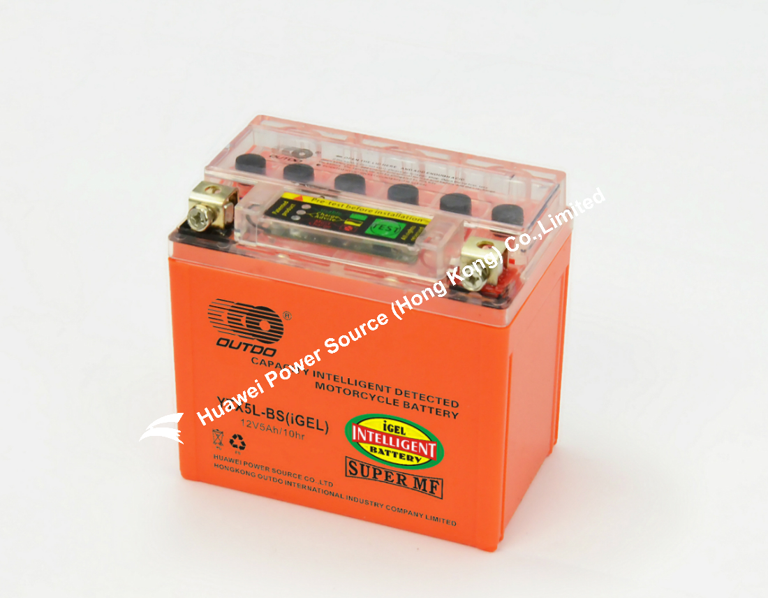 OUTDO i-GEL Motorcycle Battery / Capacity Intelligent Detected motorcycle battery / iGEL Battery