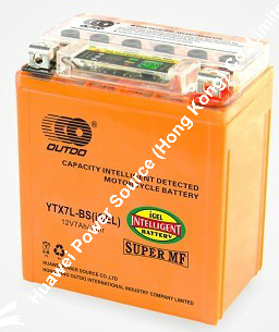 OUTDO i-GEL Motorcycle Battery / Bateria Italika I-GEL / iGEL Bateria / i-GEL SMF Motorcycle Battery
