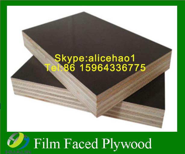 Hot Sell on Marine Plywood ,Black/Brown Film Faced Plywood for Construction