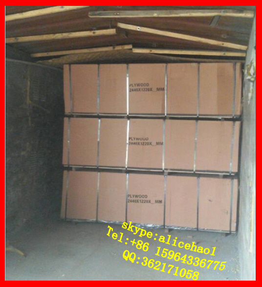 brown film faced poplar plywood