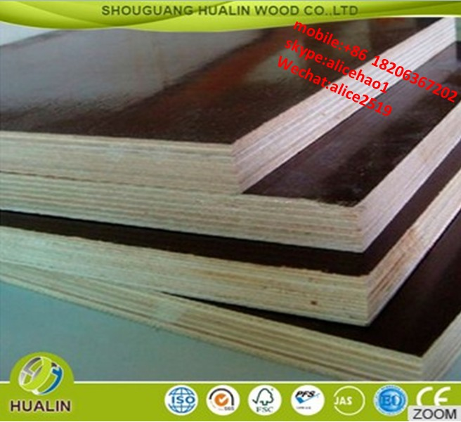 Marine Grade Construction Plywood / 18mm Film Faced Plywood