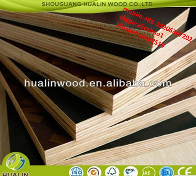 Building Material 18mm Brown Film Faced Plywood
