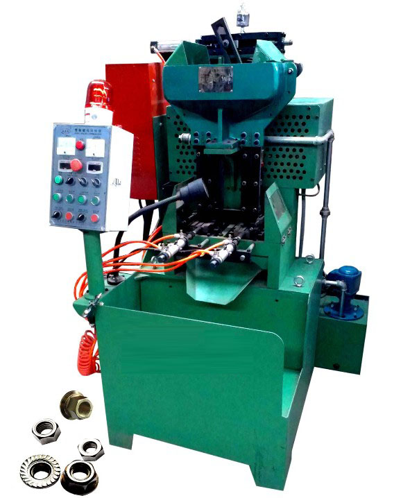 The pneumatic 2 spindle flange & hex nut tapping machine from China factory